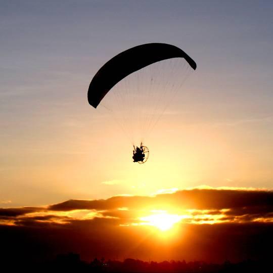 Parachute ascensionnel en Corse